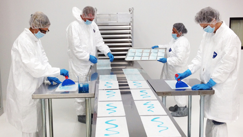 spa product manufacturing